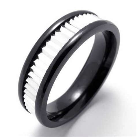 Fashion Accessories Titanium Stainless Steel Ring Silver