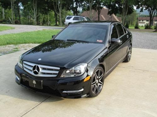 Sell used 2013 Mercedes Benz C300 Sport Sedan 4Matic AMG Package in Scott Depot, West Virginia ...