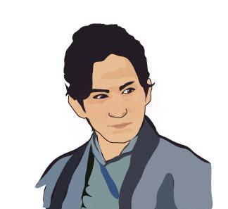 黒田官兵衛 岡田准一くんの似顔絵 似顔絵イラスト情報 楽天ブログ