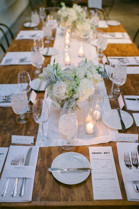 {winter white glam   wedding   smog shoppe}   Krista Mason
