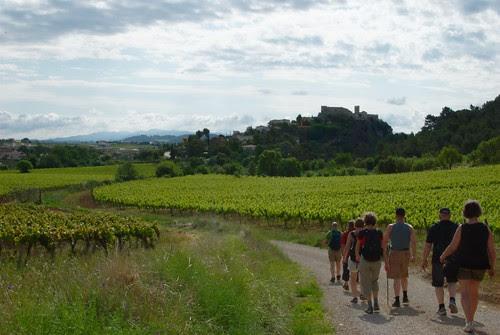 På väg mot Sant Marti Sarroca