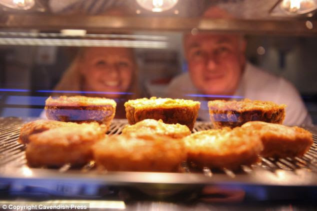 The fish and chip shop that offers deep fried MINCE PIES ...
