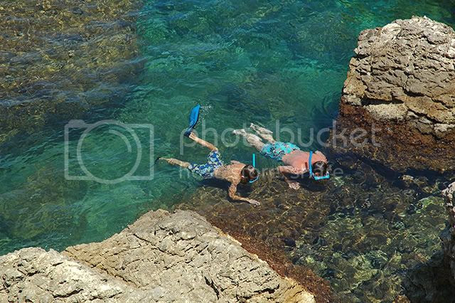 Snorkeling in L'Escala, Costa Brava [enlarge]