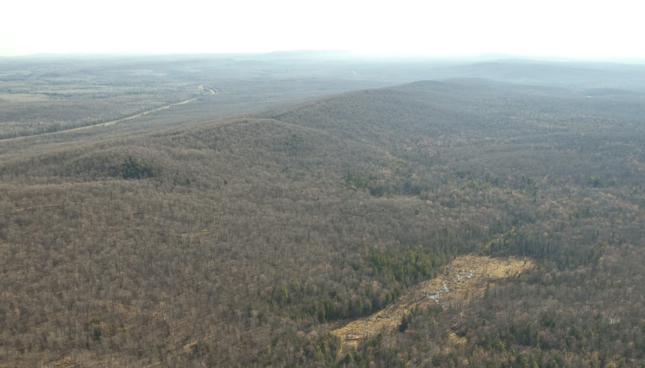 Penokee Hills and GTAC Mining site in Northern Wisconsin