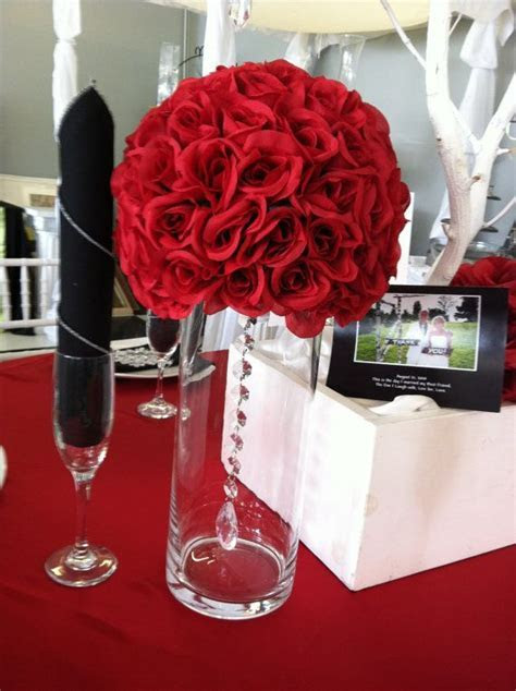 Rose ball Centerpiece by AffordableEelegance on Etsy, $30