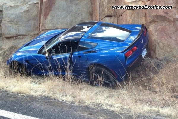 2014 Corvette Stingray Accident