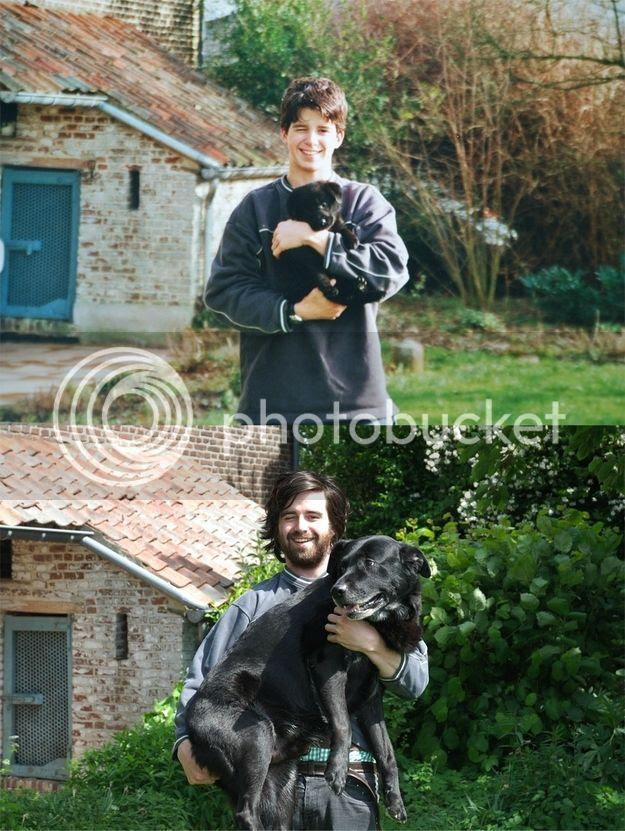 Creciendo con las mascotas