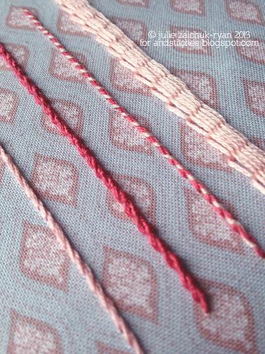 Stem Stitch Sampler