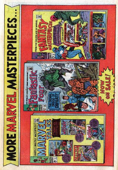 Marvel sideways house ad