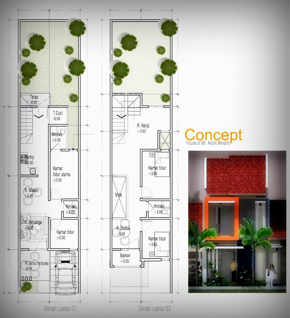 68 Desain Rumah Minimalis Lebar 3 Meter Desain Rumah Minimalis Terbaru