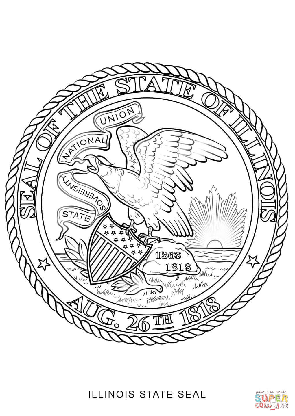 nc state seal coloring pages - photo#5