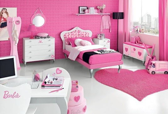 Toddler girls bedroom ideas – with play space