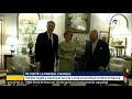 VIDEO Majestatea Sa Margareta, Custodele Coroanei, s-a întâlnit cu Principele de Wales