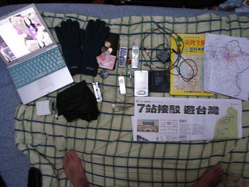 2007機車環台-攜帶物品