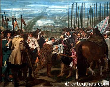"""""""Rendición de Breda"""" o """"Las Lanzas"""" de Diego Velázquez"""