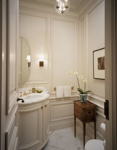 Good Life Of Design Designing A Small Guest Bathroom To