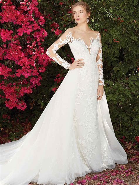 Top Six Long Sleeve Wedding Dresses From Casablanca Bridal