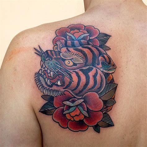 tiger tattoo meanings design  men