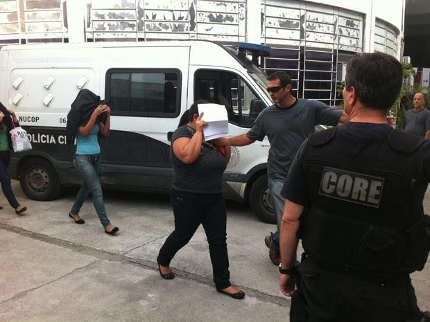 Operação policial prendeu suspeitos de integrar quadrilha acusada de receber propinas em troca de vistorias e emissão de documentos irregulares no Detran (Foto: Bernardo Tabak)