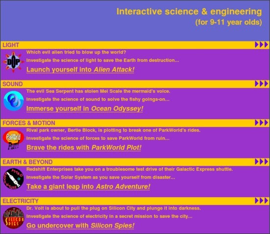 http://www.engineeringinteract.org/interact.htm