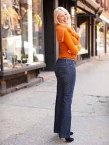 Flat Butt Jeans - After