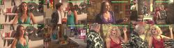 Melania Gomes sensual em vários trabalhos