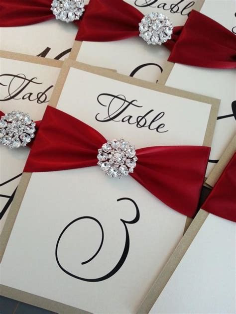 Ideas   Wedding Table Number Cards #2066583   Weddbook