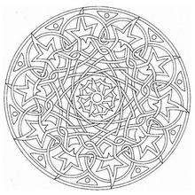 Dibujos Para Colorear Mandala Universo Eshellokidscom