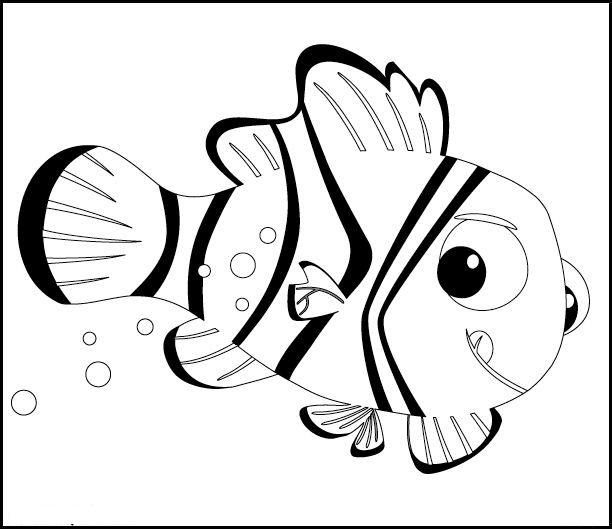 Le Monde De Nemo Coloriages
