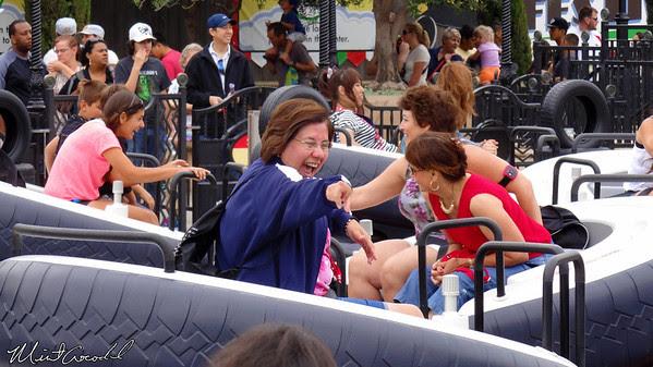 Disneyland Resort, Disney California Adventure, Cars Land, Luigi's Flying Tires