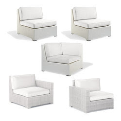 5-pc. Melrose Modular Set - Frontgate, Patio Furniture Home ...