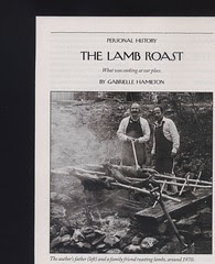 the lamb roast