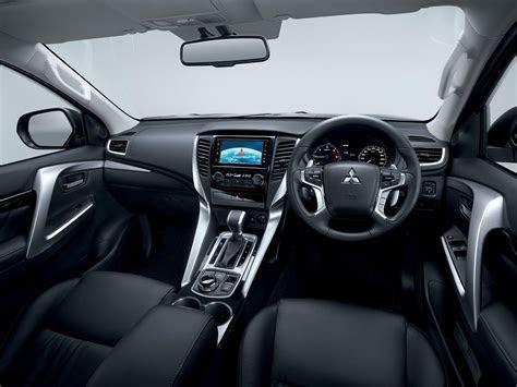2016 Mitsubishi Pajero Sport interior unveiled   Indian Autos blog