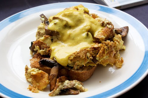 mushroom tof-omlette