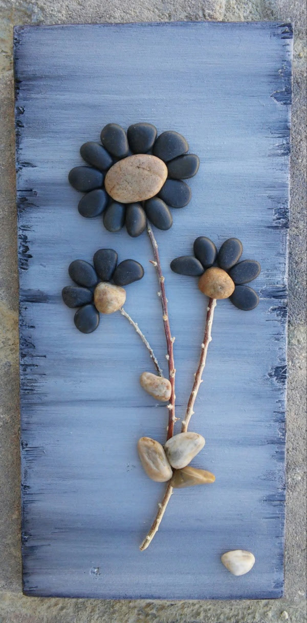 Handy Rock And Pebble Art Ideas For Many Uses32