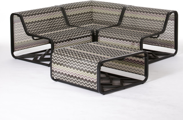Missoni for Target®: 4-pc. Patio Sectional - - patio furniture and ...