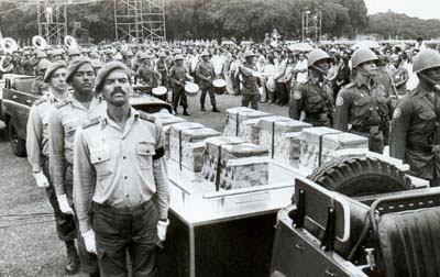 Muertos cubanos regresan a casa