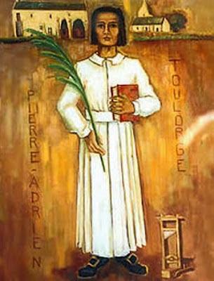 Vénérable Pierre-Adrien Toulorge, prêtre - martyr de la Révolution française († 1793)