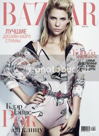 Claire Danes for Harper Bazaar Russia