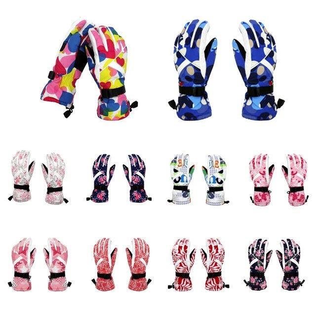 Winter Sports Thermal Warm Waterproof Snow Snowboard Ski Gloves For Women Women Ski Gloves
