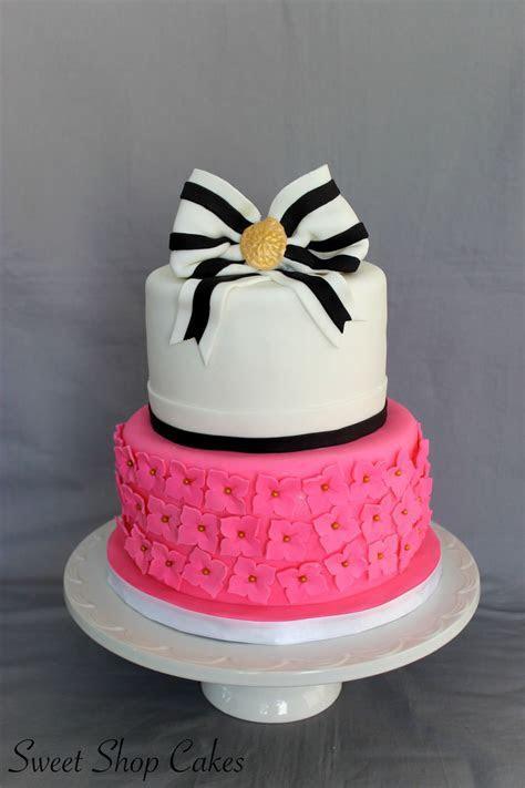 Kate Spade Bridal Shower Cake   CakeCentral.com