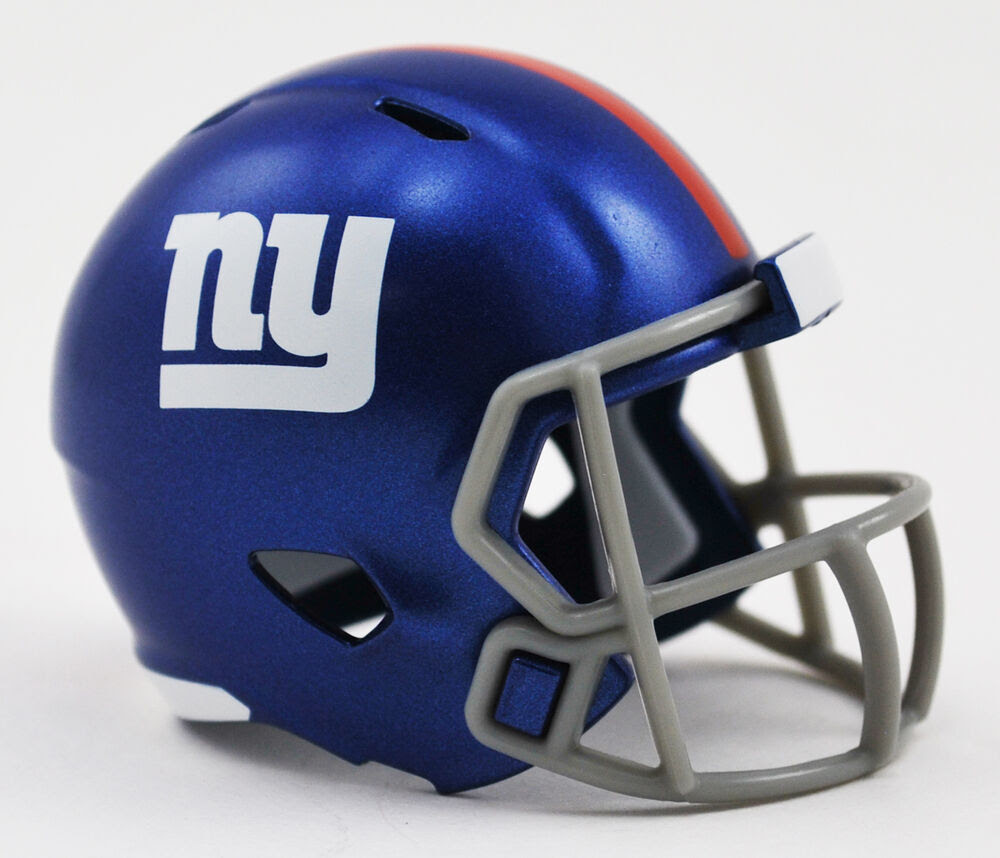 NEW YORK GIANTS NFL Cupcake / Cake Topper Mini Football Helmet  eBay