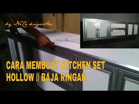 Concept 20+ Cara Membuat Kitchen Set Dari Hollow Home Decorating Ideas ae84926d98