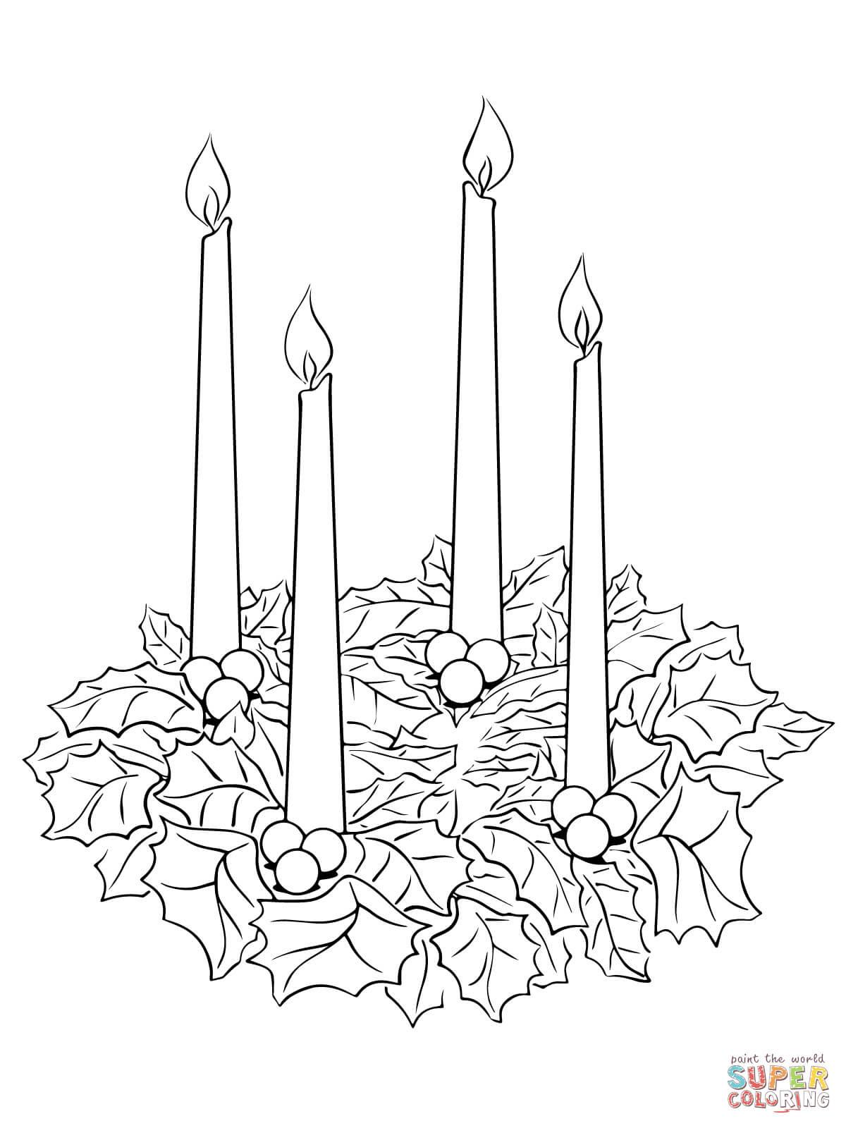 Klick das Bild Adventskranz an