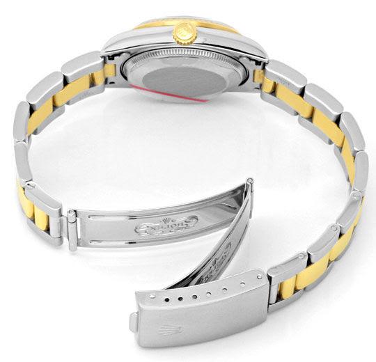 Foto 5, Rolex Medium Datejust Stahl-Gold Oyster fast Neuzustand, U2092