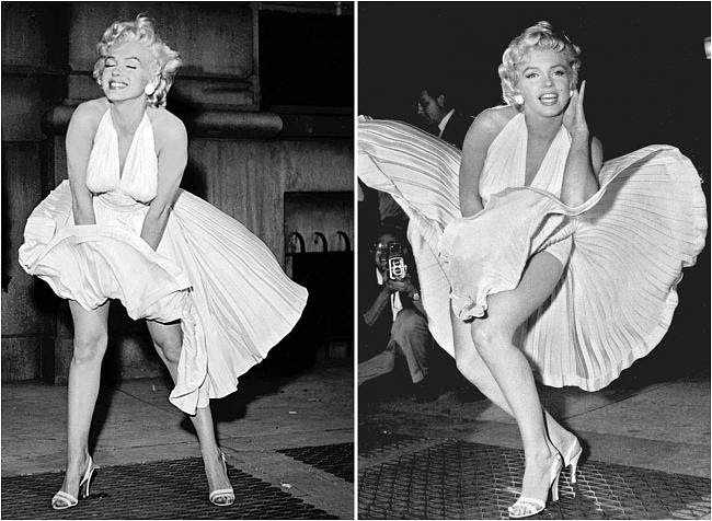 Merilyn Monroe   Samantha Jones στις αποχρώσεις του γκρι !!