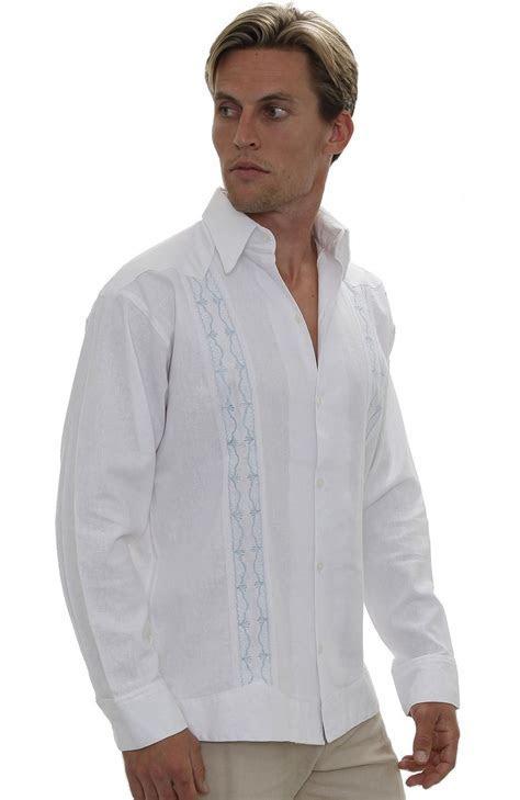 Durban Relaxed Fit Italian Men's Linen Shirts   Wedding
