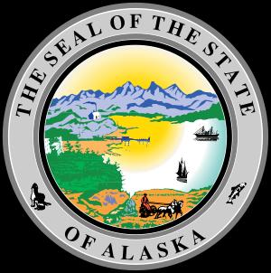 State Seal of Alaska.