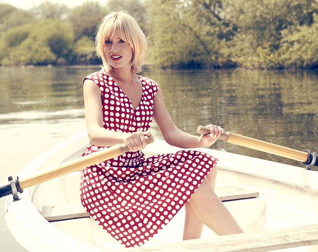Polka dot dress, £95, kew159.com