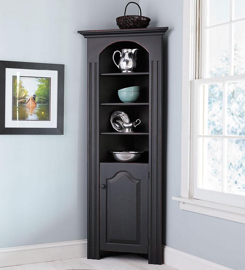 Corner Dining Room Hutch Storage Ideas - HomesFeed